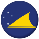 Tokelau Flag 25mm Pin Button Badge